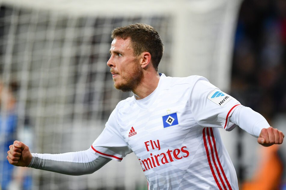 At Hamburger SV, Nicolai Müller was the top scorer for two years in a row.  (Archive image)