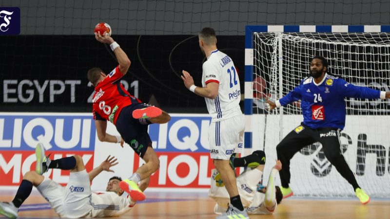 France wins its first handball World Cup match