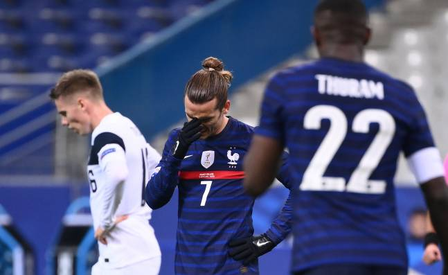 France's defeat in front of Finland!  The big surprise for Wednesday's friendly matches