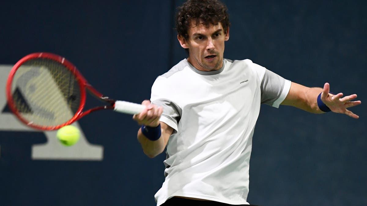 Henry Lachsonen qualified for the Australian Open