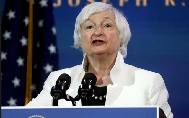 Janet Yellen is the first finance minister in US history