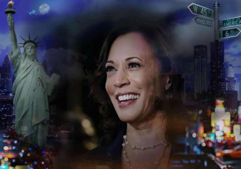 Kamala Harris: The First Female Vice President in United States History.