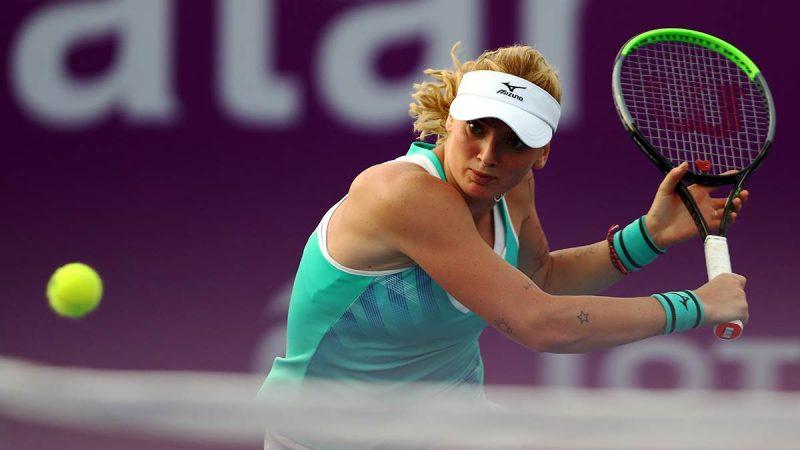 Ladies Tennis Blazwitzer disappoint Dubai