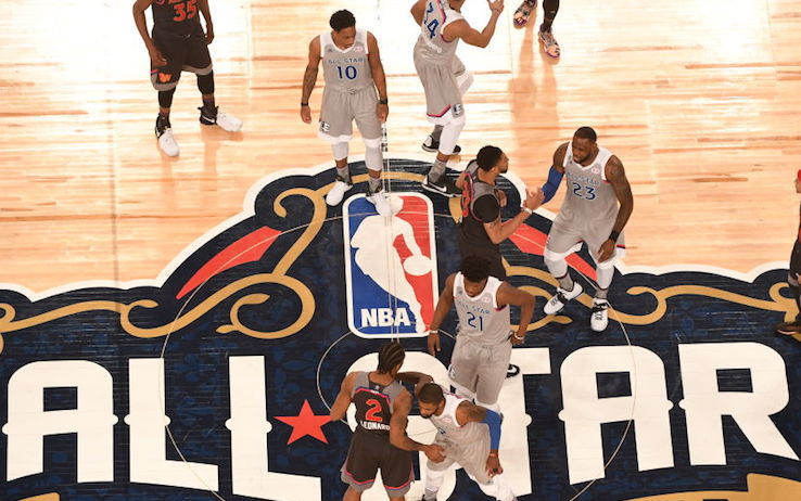 NBA, there is an idea to save the all-star game: March 7 on the field in Atlanta?