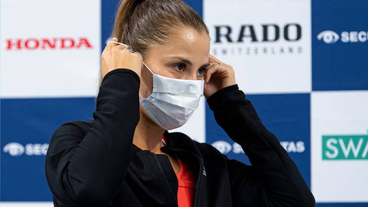 Belinda Bencic has only played one WTA Championship since March.