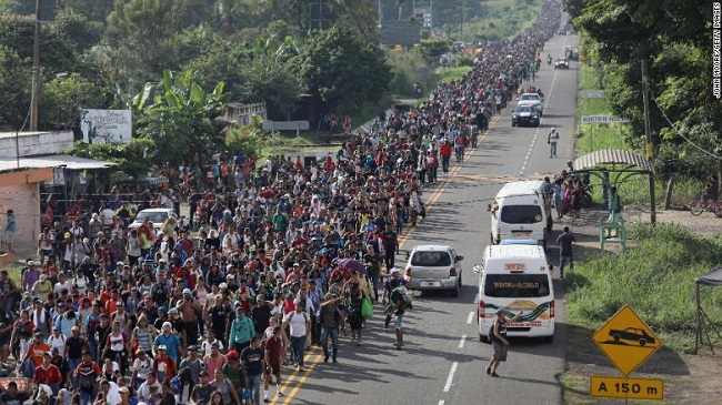The first large wave with more than six immigrants heading to the United States