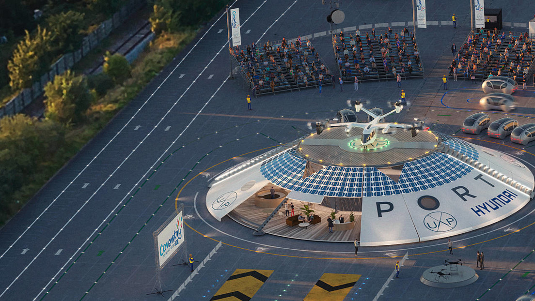 UK to build the world's first airport for flying cars (video)