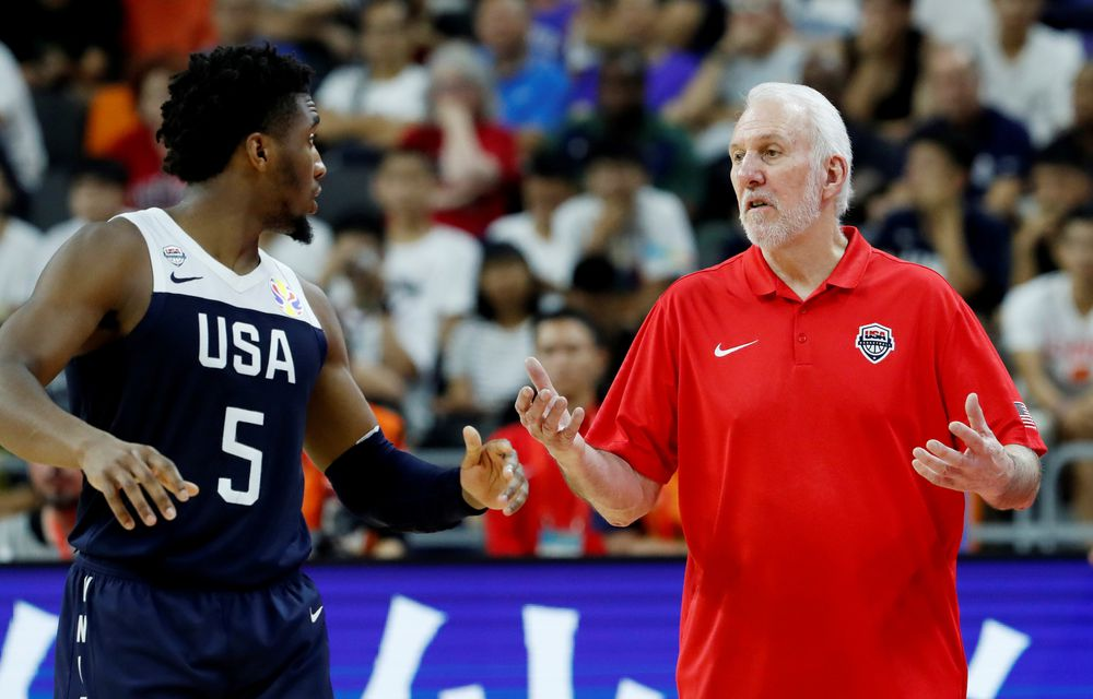 US leads pre-Olympic bubble with Spain and Australia |  Sports