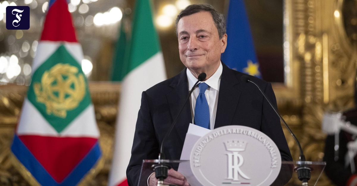 """""""Draghi is the best candidate for Italy"""""""