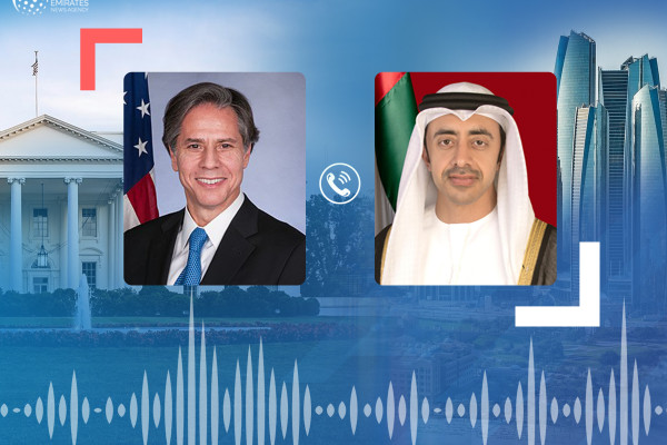 Emirates News Agency - UAE and the United States discuss strategic relations and regional issues