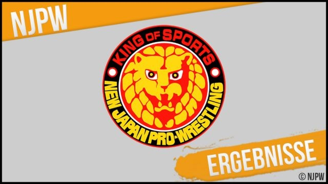 """NJPW results """"Road to a New Beginning in the USA – Day 1"""" from Port Huenheim, California, USA (05.02.2021)"""