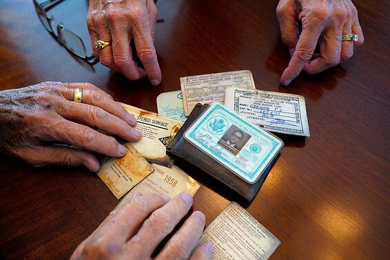 The contents of the Grimm Wallet // Photo: AP