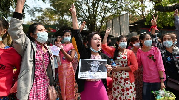 Protests are raging in Myanmar to reject the military coup