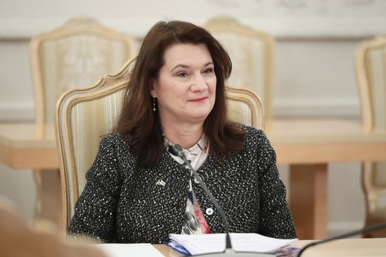 On the eighth of this month, Swedish Foreign Minister Anne Linde announced that he had made a decision to greet Russian diplomats. [EPA=연합뉴스]