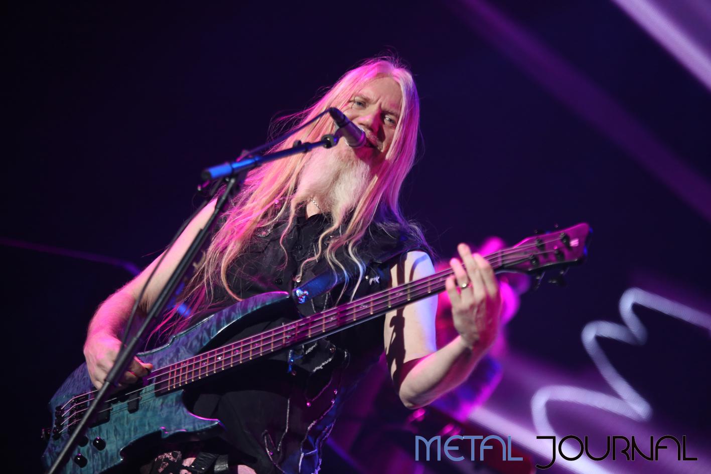 "Nightwish member Marco Hitala, winner of the ""Masked Singer"" show in Finland"