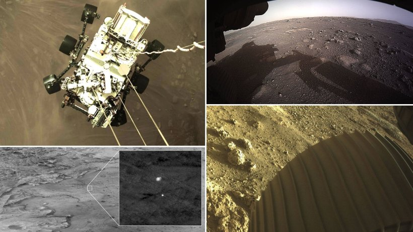 NASA's landing on Mars: The recording is unique – not a photo