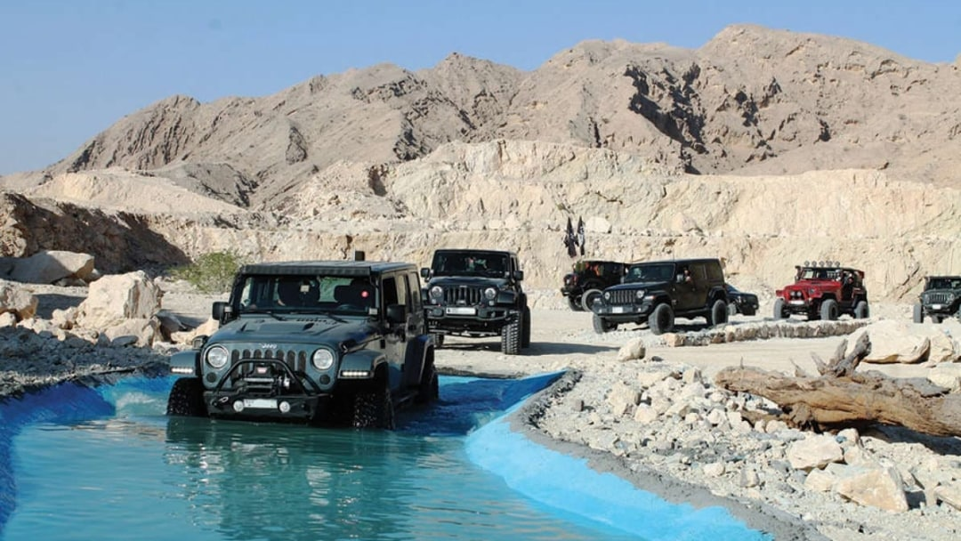 Adventure lovers … this park is for you |  X Quarry |  The first off-road and adventure park in the United Arab Emirates