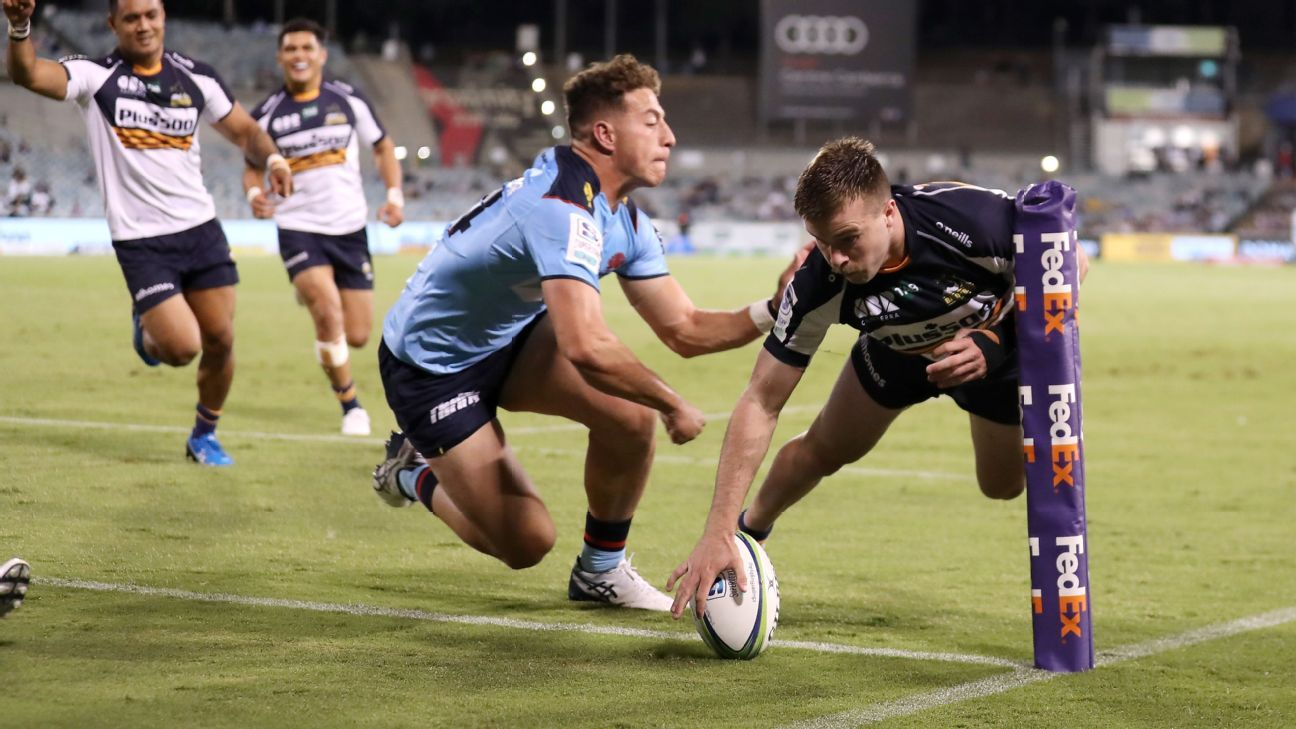 Brumby thrashed and shared the top with the Reds