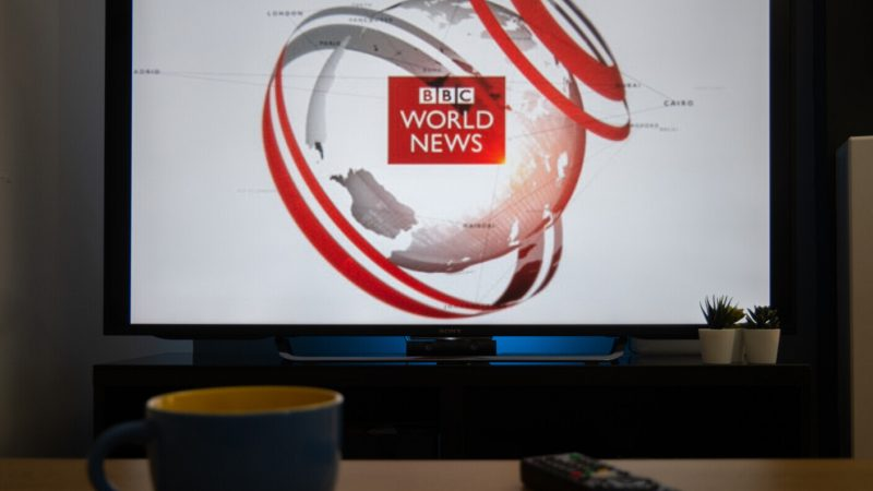 China blocked BBC World News on its soil.  Great Britain's reaction