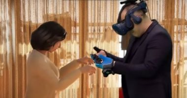Corrie fulfills his dream by meeting his deceased wife using virtual reality technology. Pictures