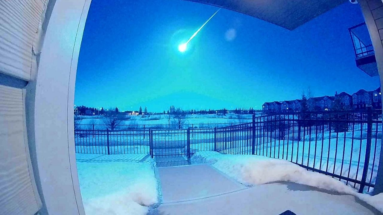 Does APOCALYPSE start?  The meteor causes a terrifying sight in the United States