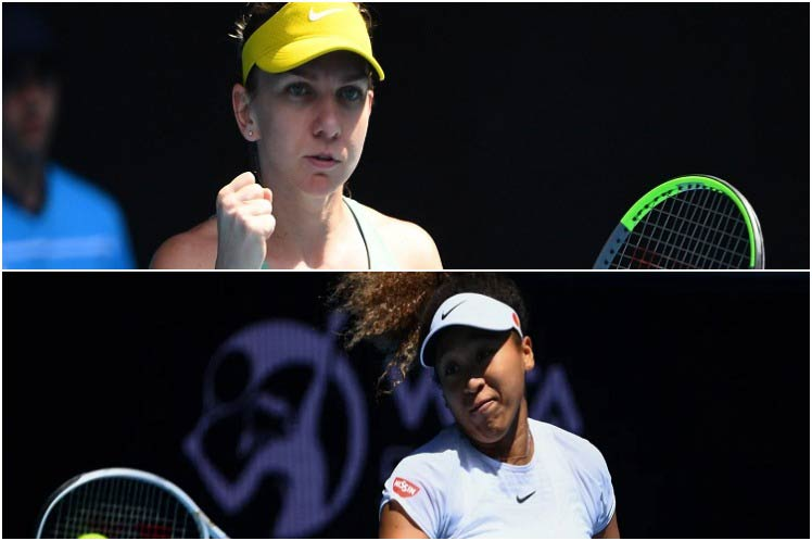 Leading Australian tennis favorites Halep and Osaka – Prinsa Latina