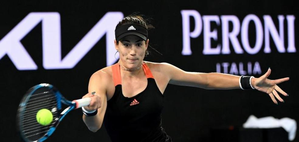 Muguruza stirs excitement, but it doesn't end before Australia