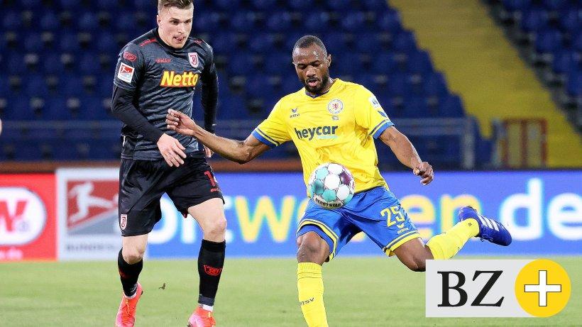 Omar Diakhet guarantees the atmosphere in Eintracht Braunschweig
