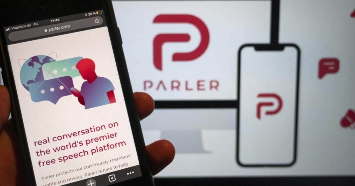 Parler fired its CEO