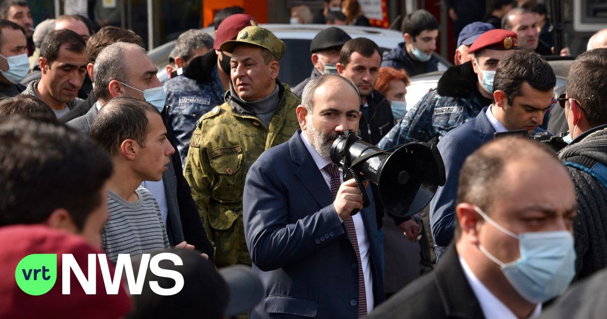 """Tense situation in Armenia: Prime Minister sacks army chief after """"coup attempt"""""""