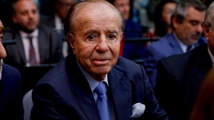 The death of former Argentine President Carlos Menem