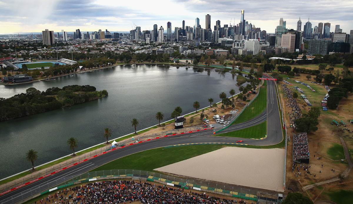 Why does the 2021 season not start in Australia?