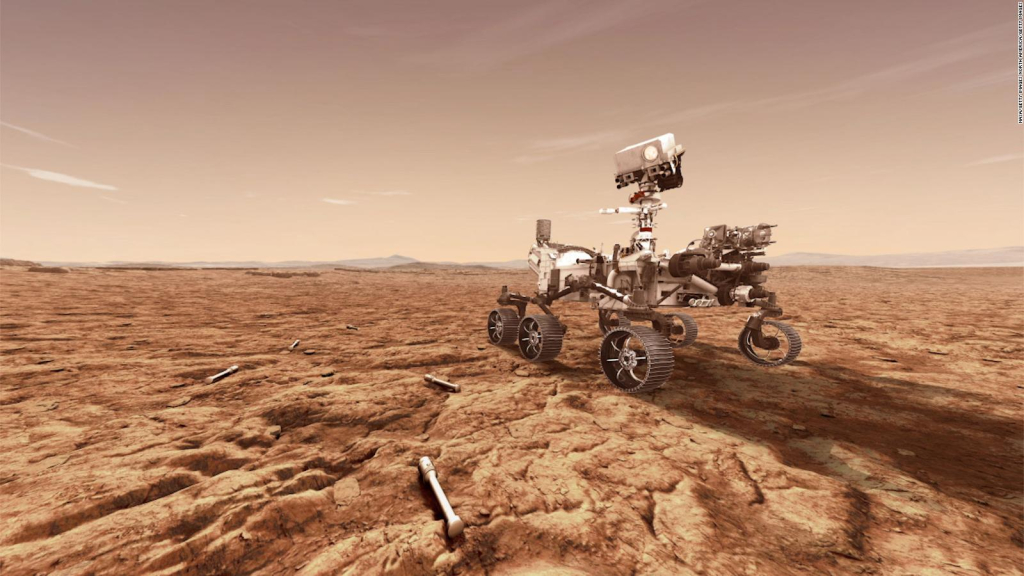Incredible rover photos of the persevering Mars rover