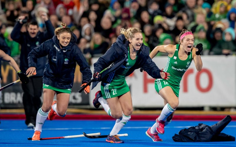 Ireland hosts a series against Great Britain in preparation for Euro and Tokyo