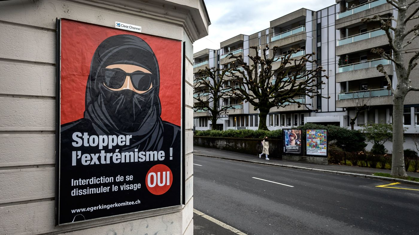 Switzerland Agrees to Ban Banning Face Covering in Public Places: NPR