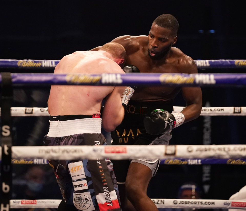 Lawrence Oakley has shown that he is ready for the world title