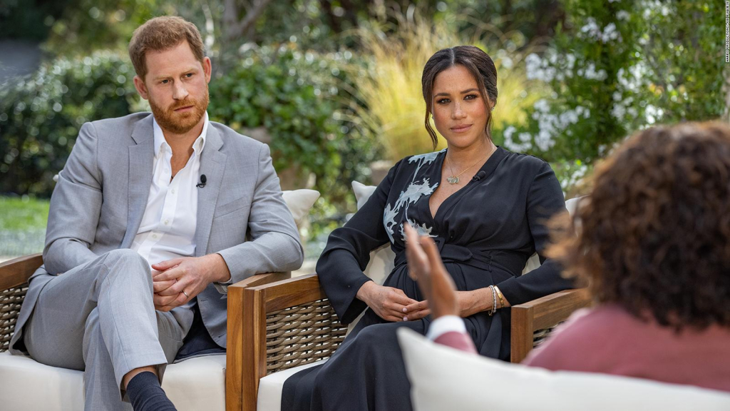 What left off Harry and Meghan's interview with Oprah?