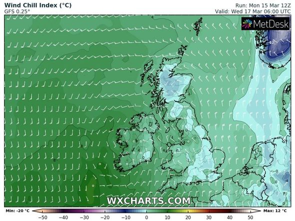 Cold weather forecast: The eastern regions are likely to be the hardest hit by the cold air