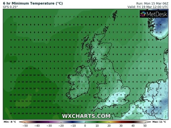 Cold weather forecast: Temperatures may drop to 0 ° C in the southeast