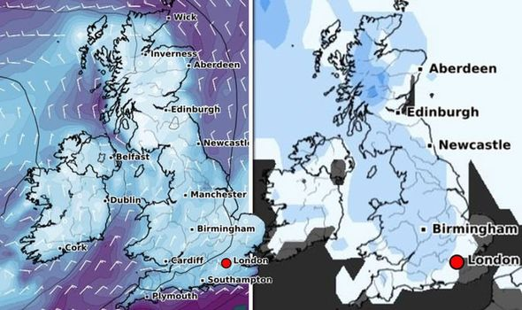 Cold Weather Forecast: Deep Freeze on Control of Britain as Brutal Arctic Air Strikes – New Maps |  time