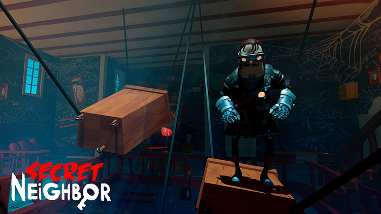 Secret Neighbor will be released on PS4, Switch, and iOS