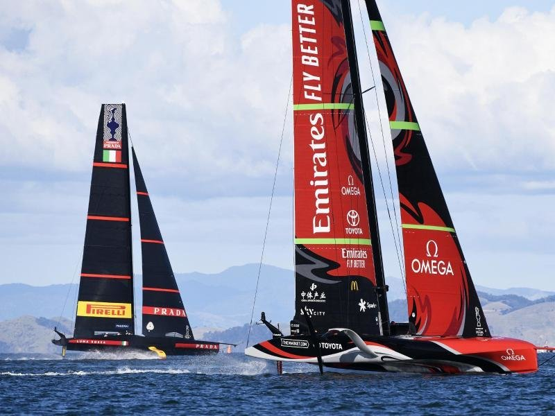 America's Cup: Close race between New Zealand and Italy |  Free Press