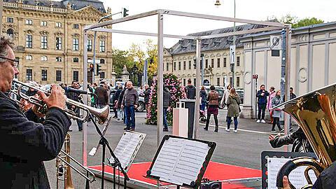 Art-free space: a steel cube soon at Marienplatz