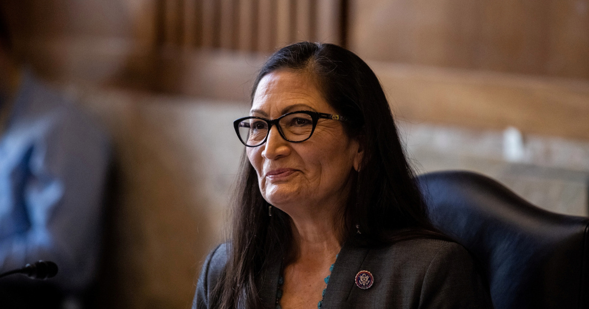 Deb Haaland confirmed the position of First Secretary of the Interior of the United States of America