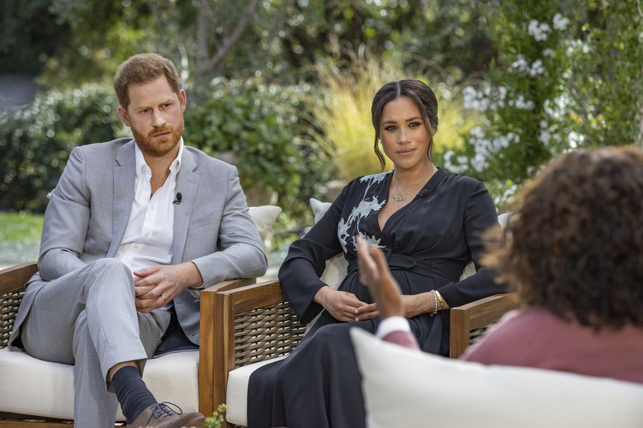 Harry and Meghan are declining in popularity in the UK after a controversial interview with Oprah Winfrey