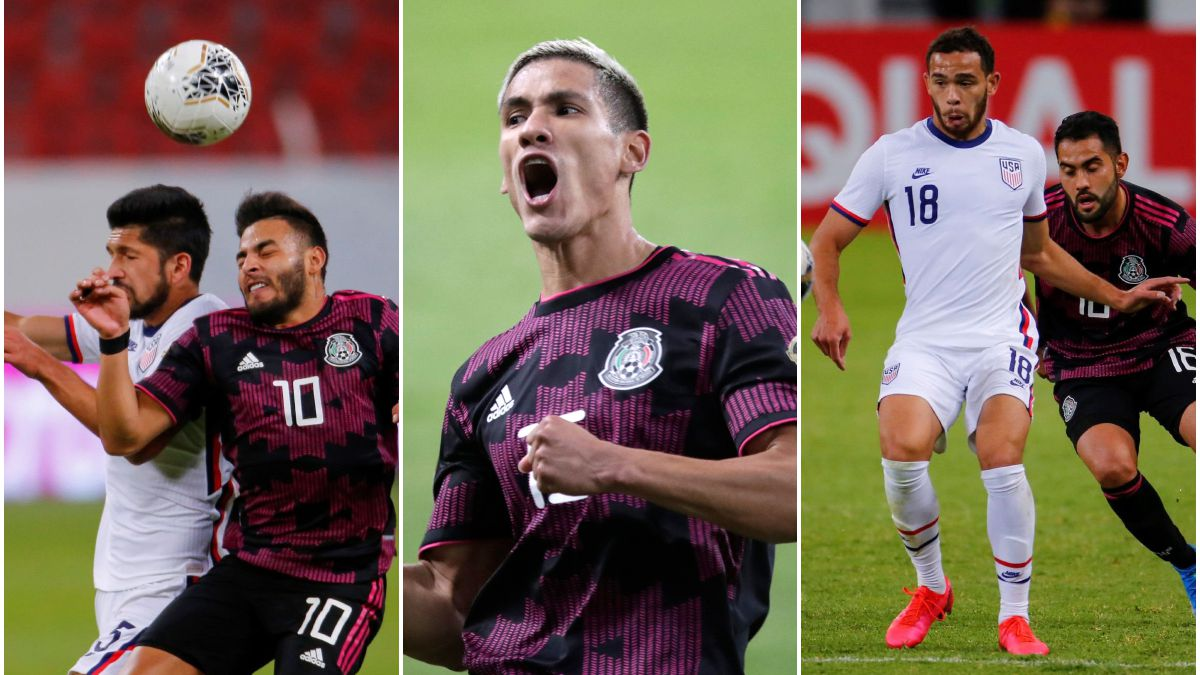 In pictures: Mexico's tight victory over the United States