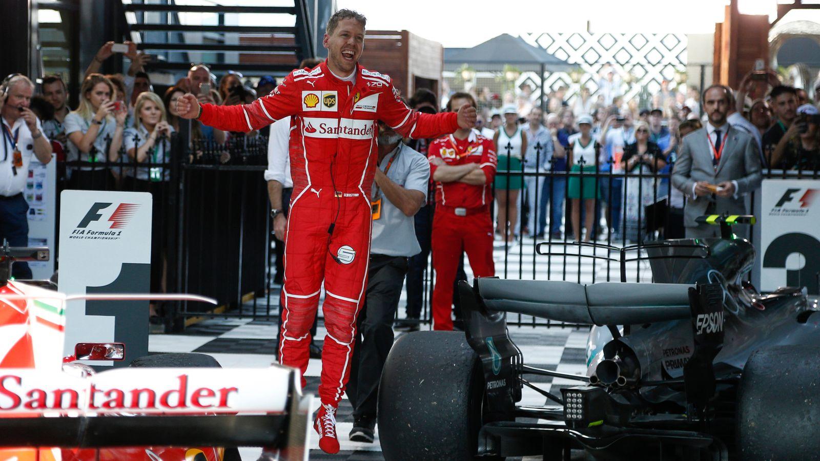 'Make a Wish: Your Sky Sport': Vettel's 2017 Melbourne success on Sky |  Formula 1 news