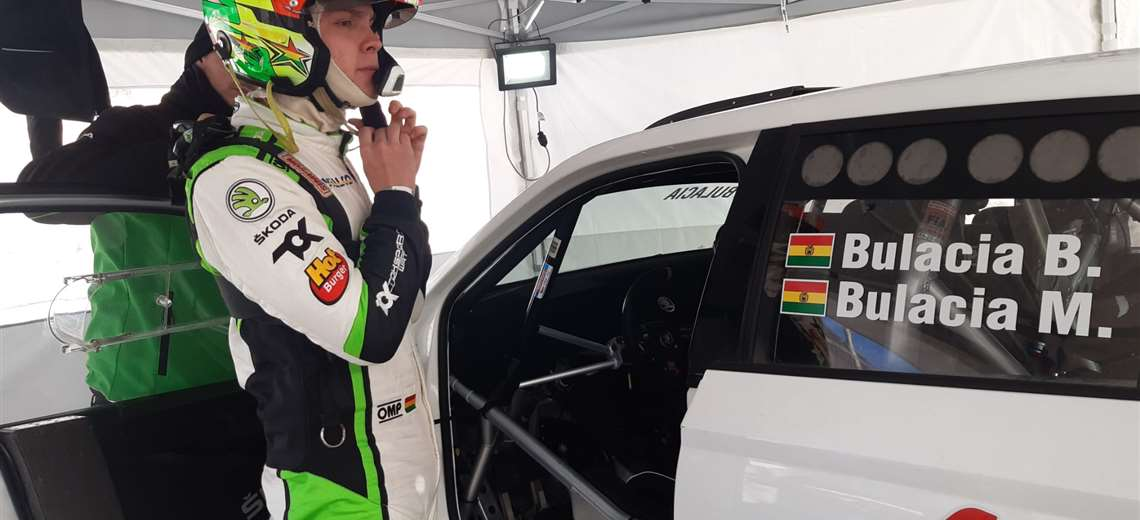 Marco Polacia missed the Finland Rally due to the lack of a visa