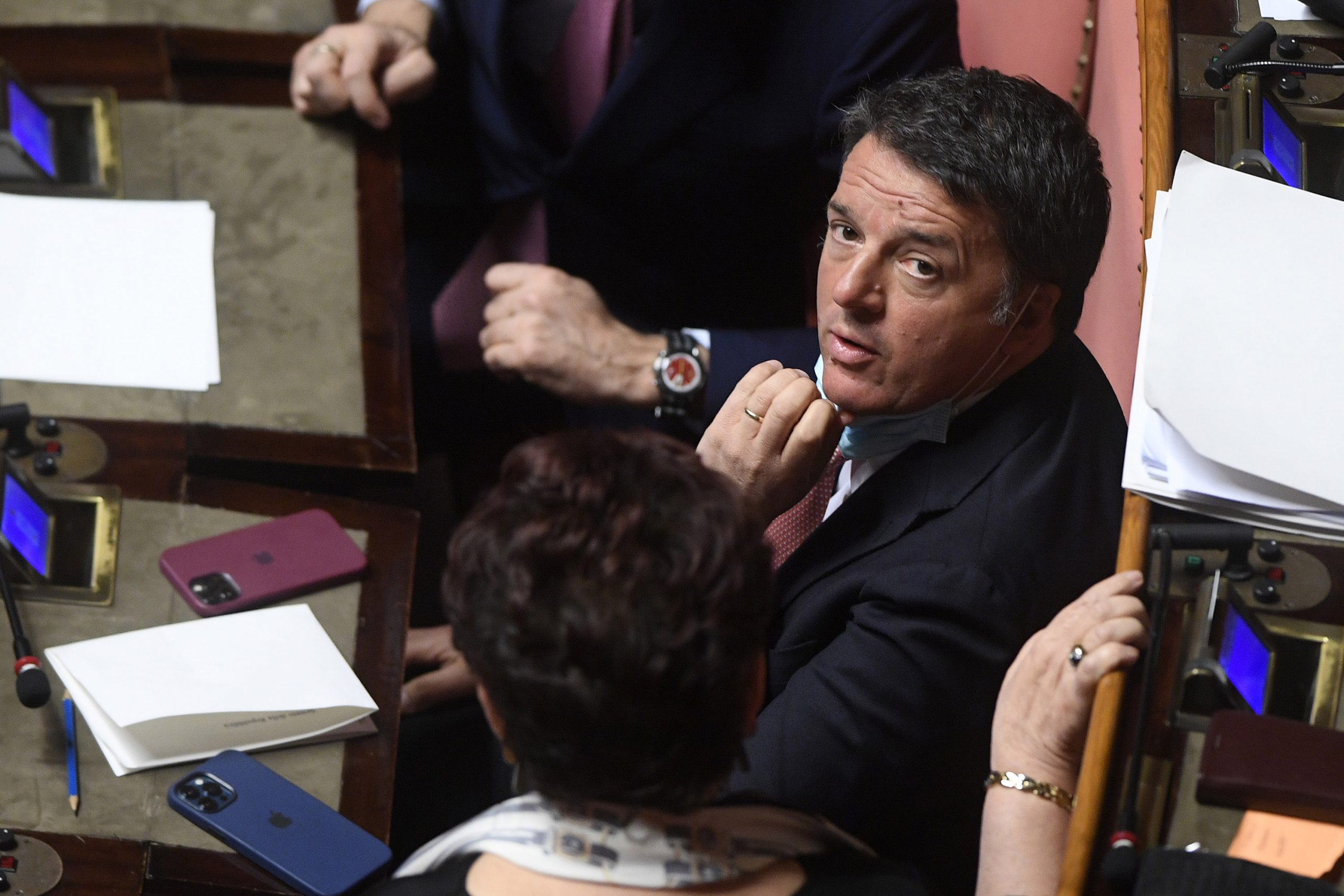 Renzi shrugs: Bin Salman?  Friend