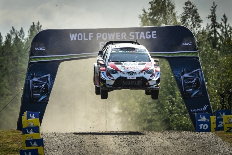 Toyota with five Yaris WRC in Finland / WRC